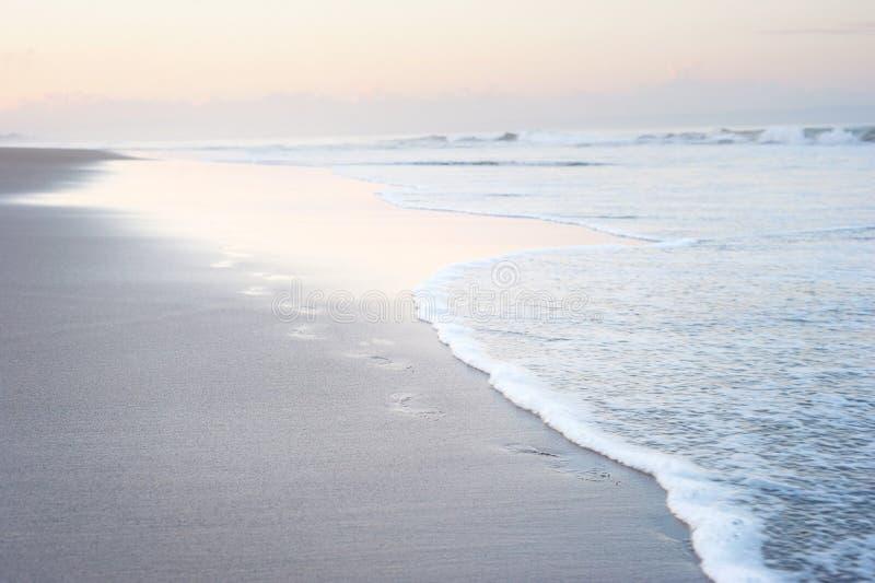 Kroki na Bali plaży zdjęcia stock