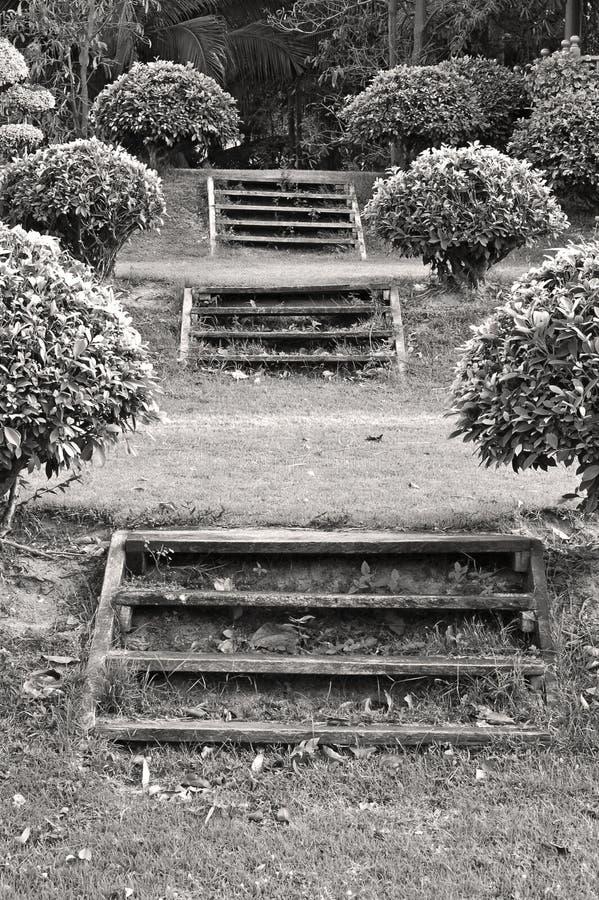 kroki ogrodów zdjęcie stock