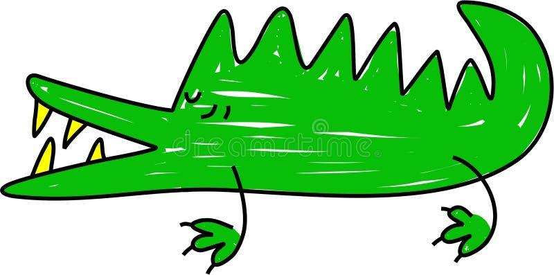 Krokodil vektor abbildung