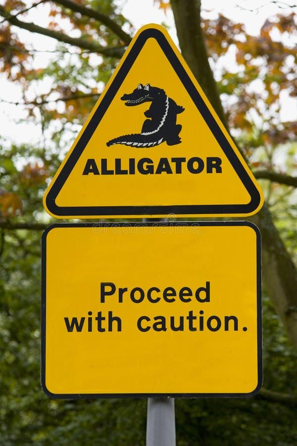 Krokodil!! stockfotografie