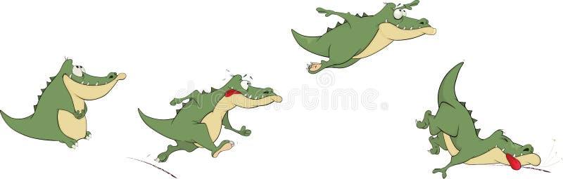 Krokodyle ilustracji