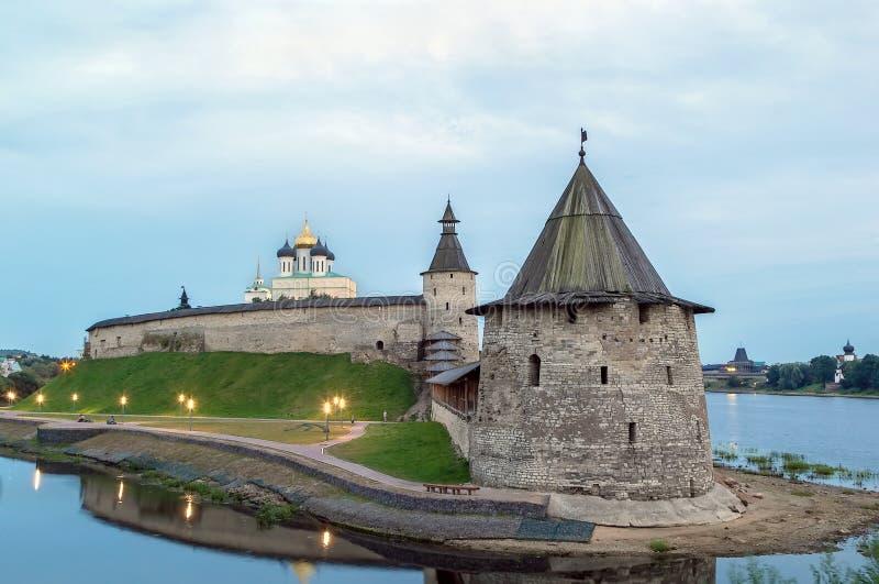 Krom a Pskov fotografie stock
