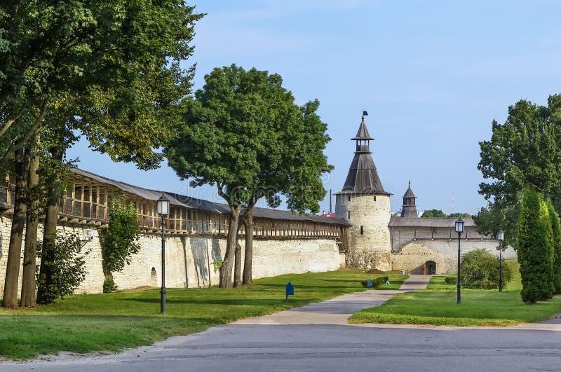 Krom a Pskov, Russia immagine stock