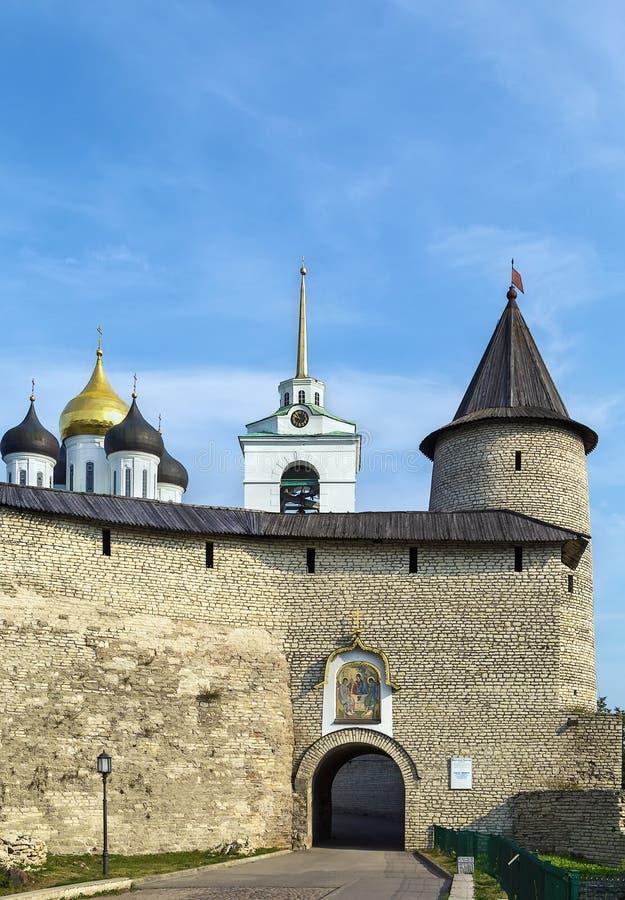 Krom a Pskov, Russia fotografie stock libere da diritti