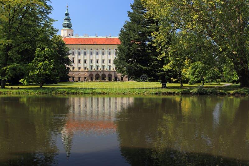 Kromeriz chateau royalty free stock image