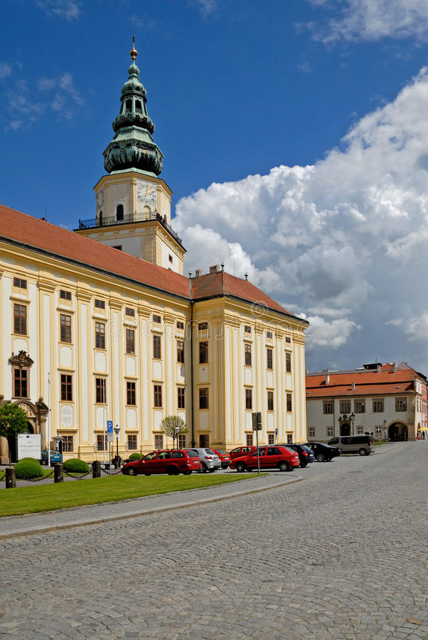 Kromeriz, Tsjechische Republiek royalty-vrije stock foto's