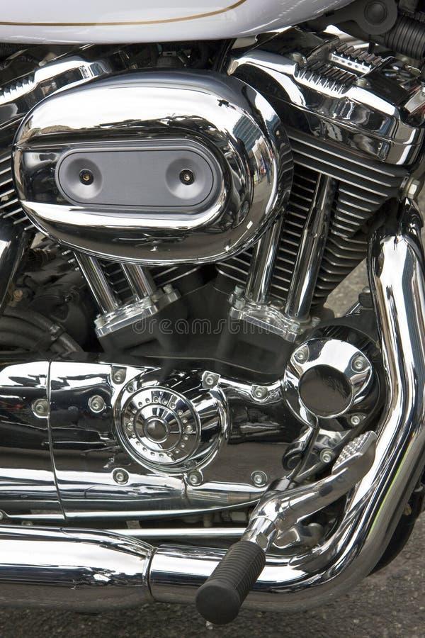 krommotorbike royaltyfria foton