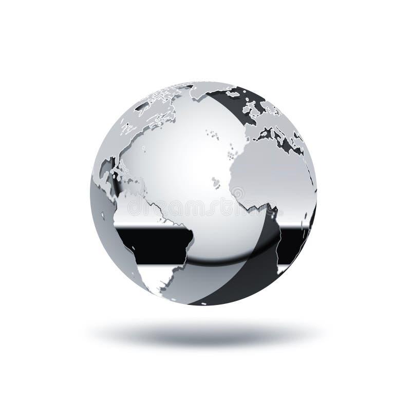 Kromvärld vektor illustrationer