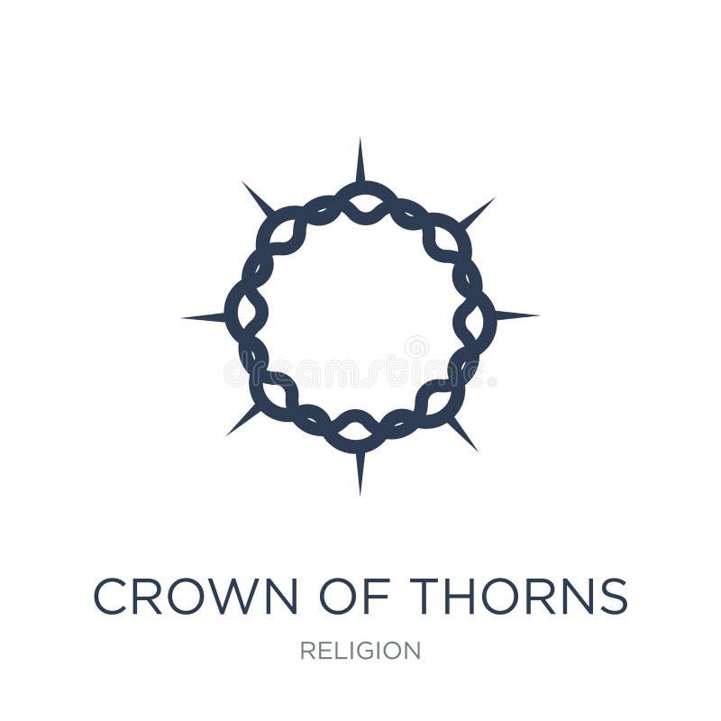Krona av taggsymbolen  vektor illustrationer