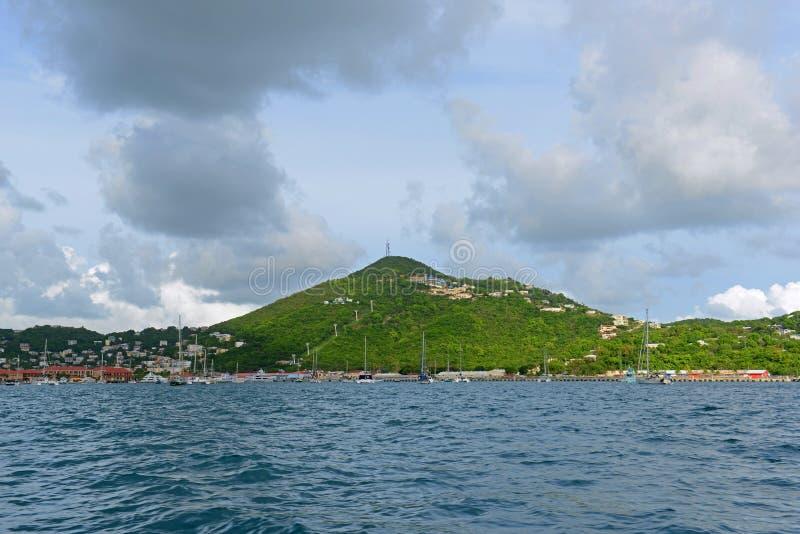 Kronaberg, St Thomas, USA Jungfruöarna, USA royaltyfria bilder