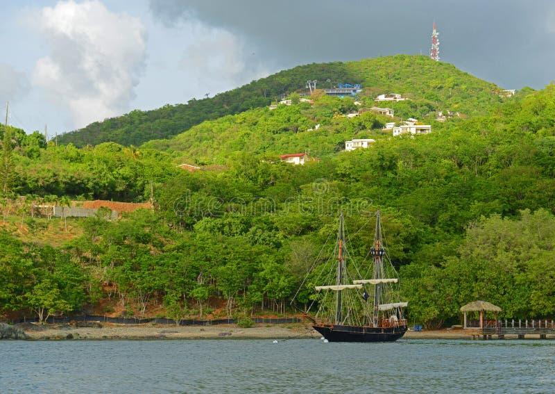 Kronaberg, St Thomas, USA Jungfruöarna, USA royaltyfri fotografi