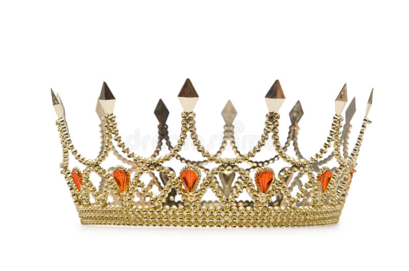 kronaguld royaltyfria bilder