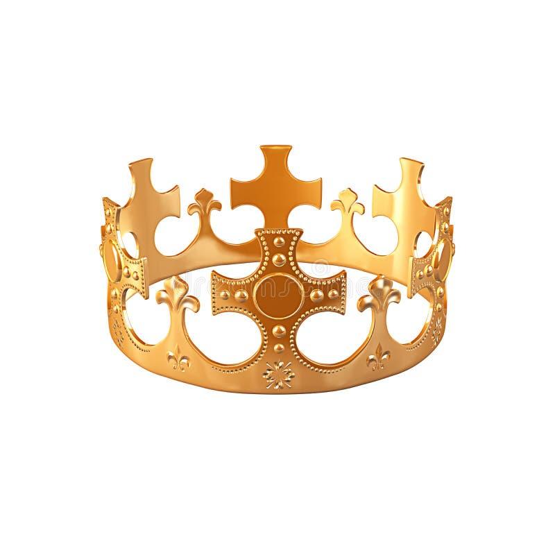 kronaguld stock illustrationer