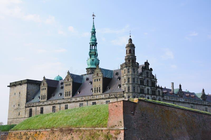 kronborg замока стоковые изображения rf