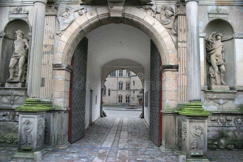 Kronborg castel royalty free stock images