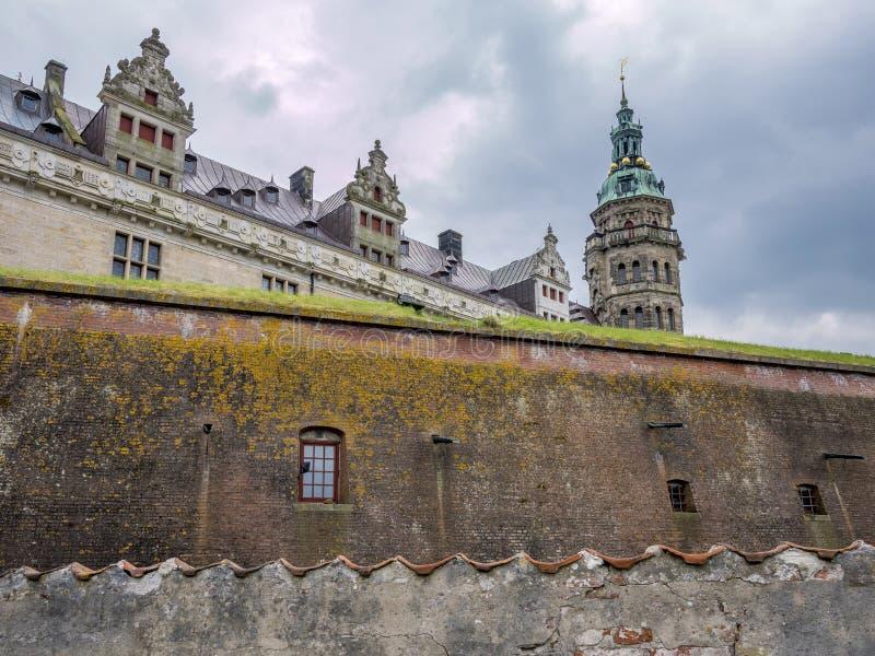 Kronborg castle, Helsingor, Zealand, Danmark, Europe. Kronborg castle in Helsingor, Zealand, Danmark, Europe royalty free stock photography
