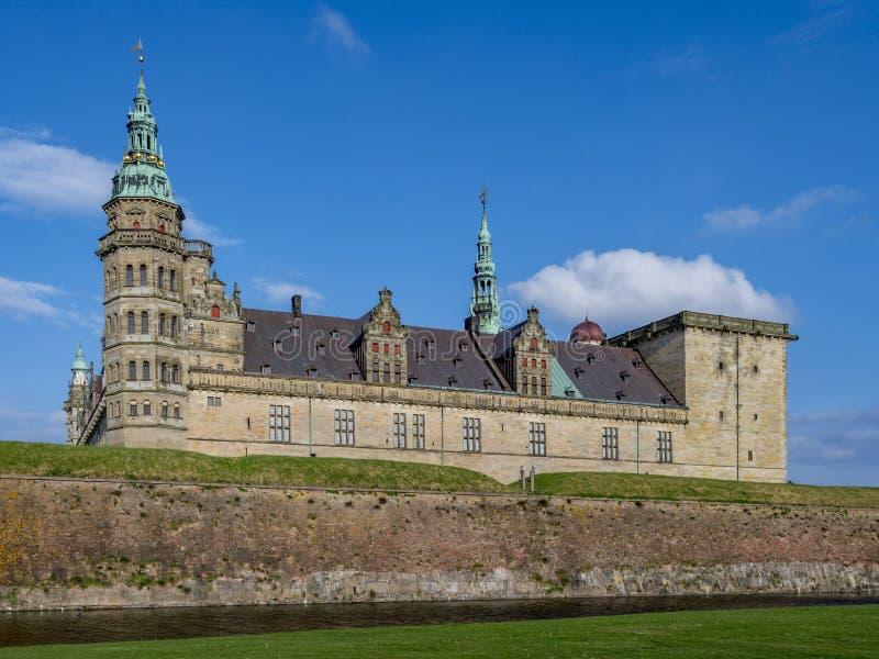 Kronborg castle, Helsingor, Zealand, Danmark, Europe. Kronborg castle in Helsingor, Zealand, Danmark, Europe stock photography