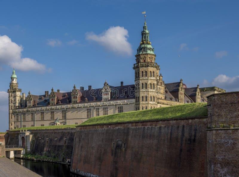 Kronborg castle, Helsingor, Zealand, Danmark, Europe. Kronborg castle in Helsingor, Zealand, Danmark, Europe stock photo
