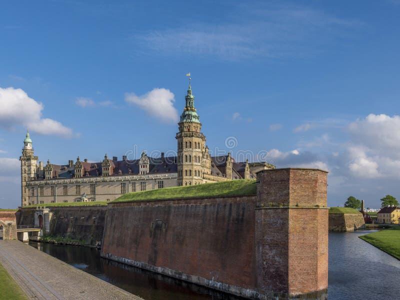 Kronborg castle, Helsingor, Zealand, Danmark, Europe. Kronborg castle in Helsingor, Zealand, Danmark, Europe stock photos