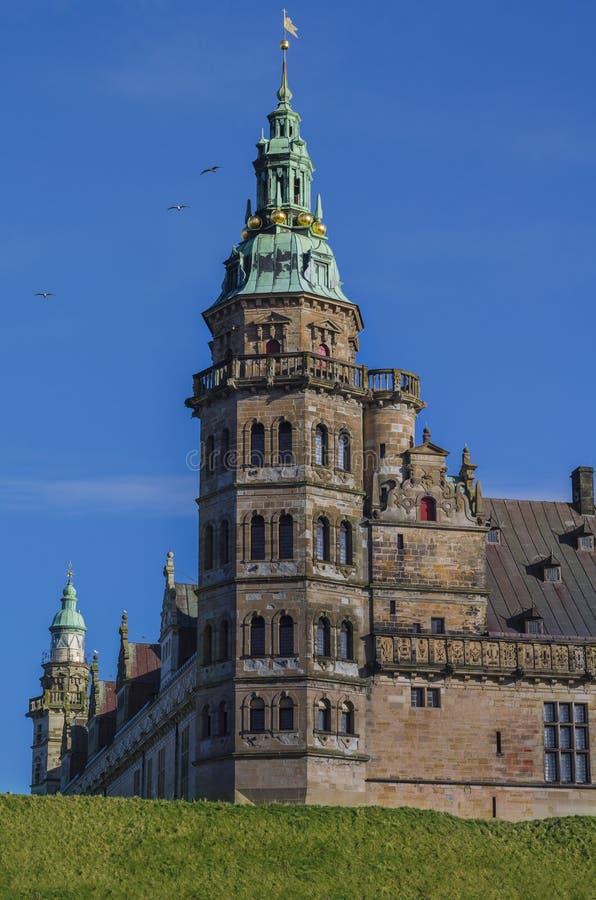 Kronborg Castle tower stock photo