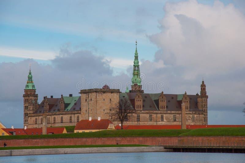 Kronborg kasztel w Dani obrazy stock