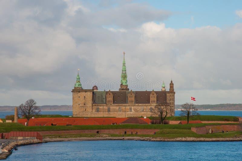 Kronborg kasztel w Dani zdjęcie stock