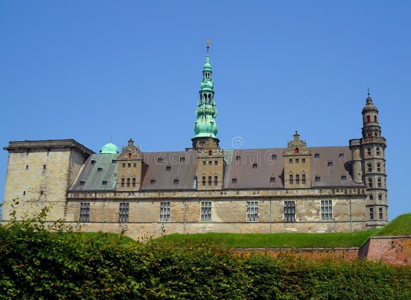Kronborg, Oszałamiająco Renesansowy budynek w Helsingor zdjęcia stock