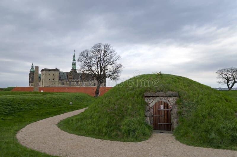 Kronborg Schloss lizenzfreies stockfoto