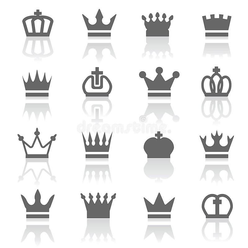 kronen stock illustratie