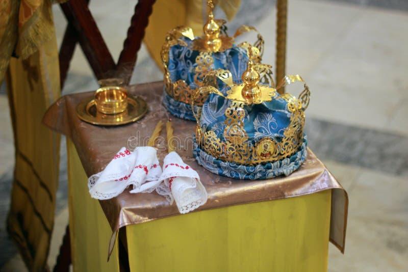 kronen royalty-vrije stock afbeelding