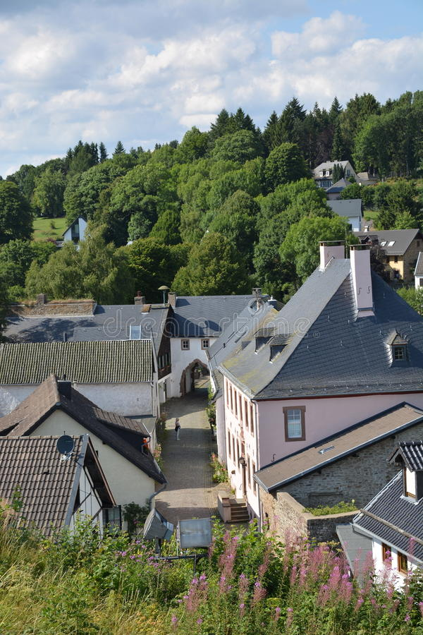 Kronenburg en Allemagne photographie stock