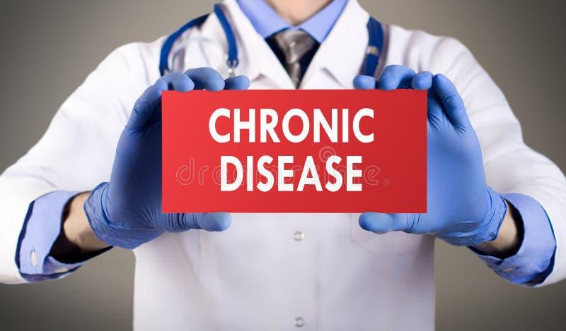 Kronisk sjukdom royaltyfri fotografi