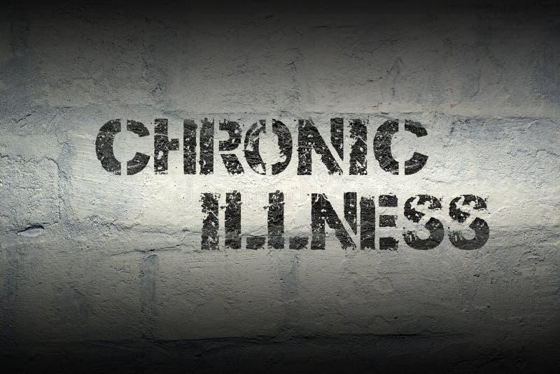 Kronisk sjukdom gr arkivfoton