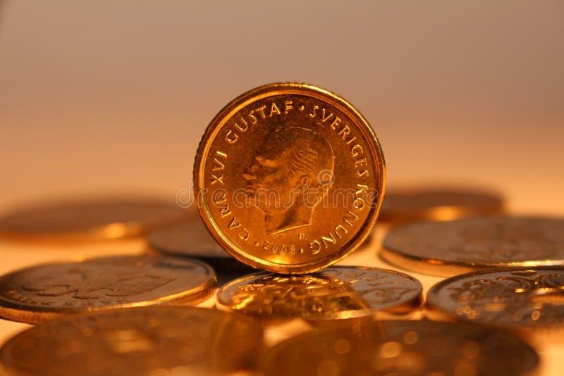 Kronor de sueco fotografia de stock royalty free