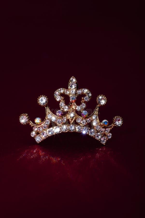 Kroon royalty-vrije stock afbeelding