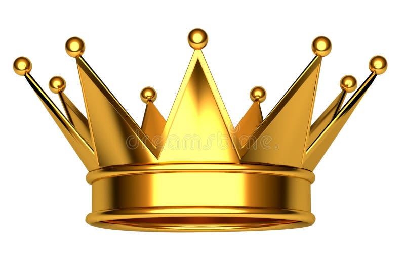 Kroon royalty-vrije illustratie