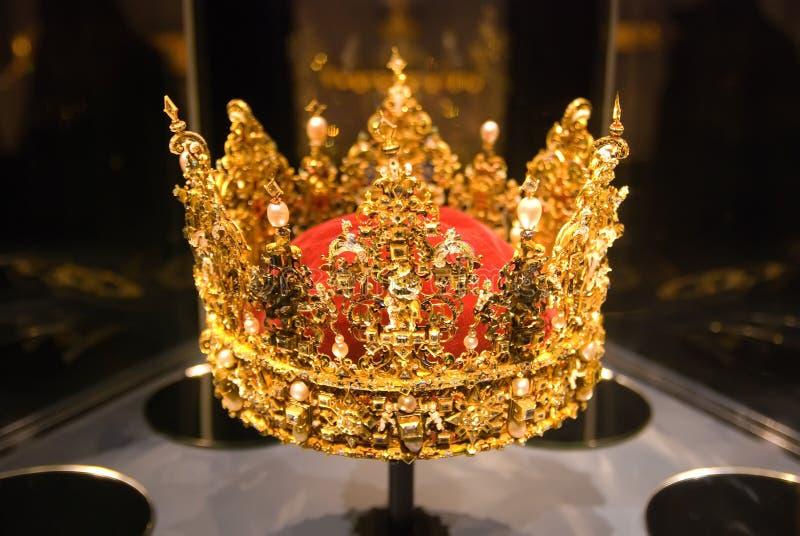 Kroon. Rosenborg. Kopenhagen royalty-vrije stock afbeelding