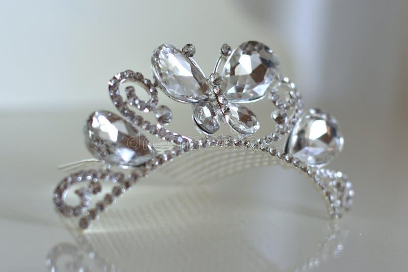 Kroon van de bruid royalty-vrije stock foto's