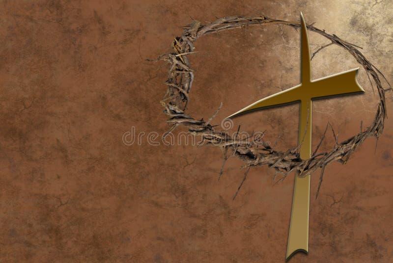 Kroon van Doornen stock illustratie