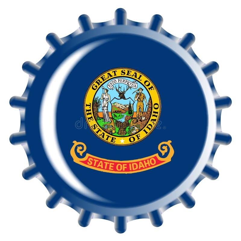 Kroonkurk van Idaho royalty-vrije illustratie