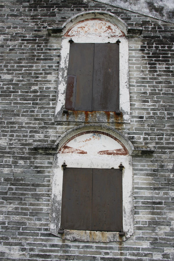 Kroonlijst van Kaiping-Watchtowers stock foto's