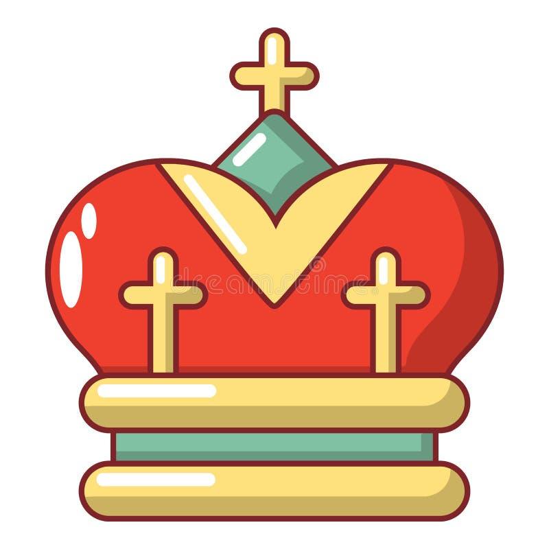 Download Kroonpictogram, Beeldverhaalstijl Vector Illustratie - Illustratie bestaande uit koning, grafisch: 107707683