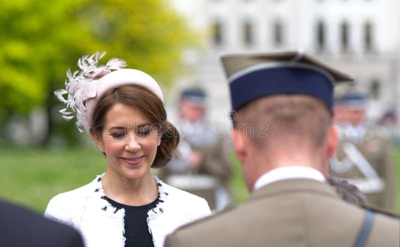 Kroonprinses Mary Elizabeth van Denemarken royalty-vrije stock afbeelding