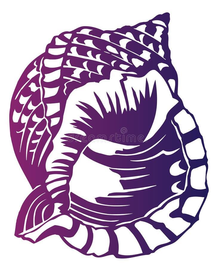 Kroonslak vector illustratie