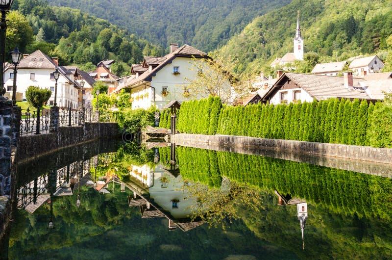 Kropa, Σλοβενία στοκ φωτογραφίες