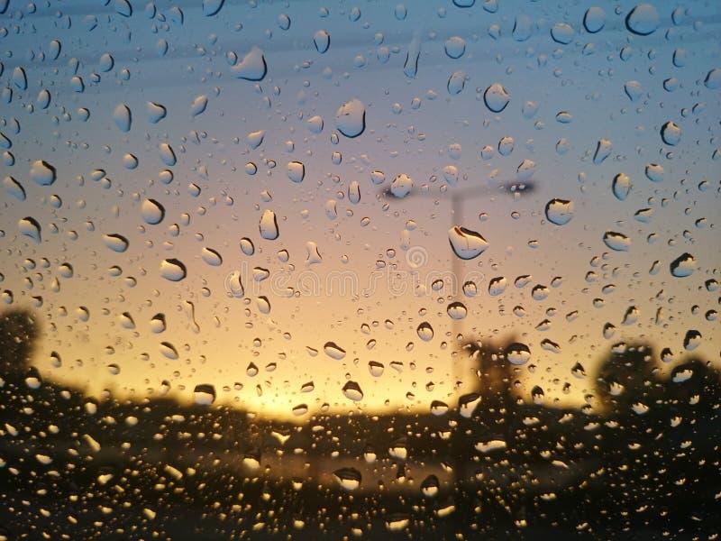 kropel szkła deszcz obrazy royalty free