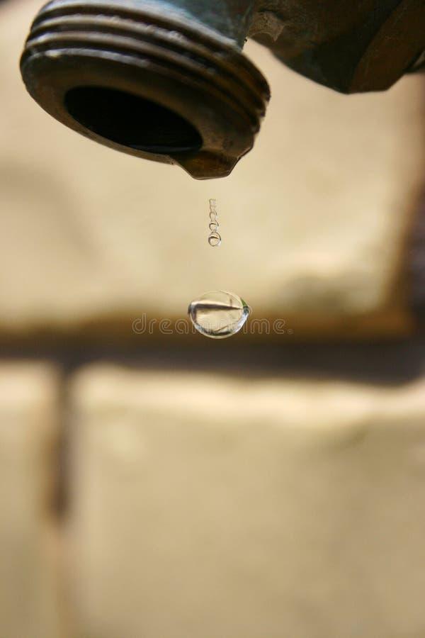 kropel wody obraz stock