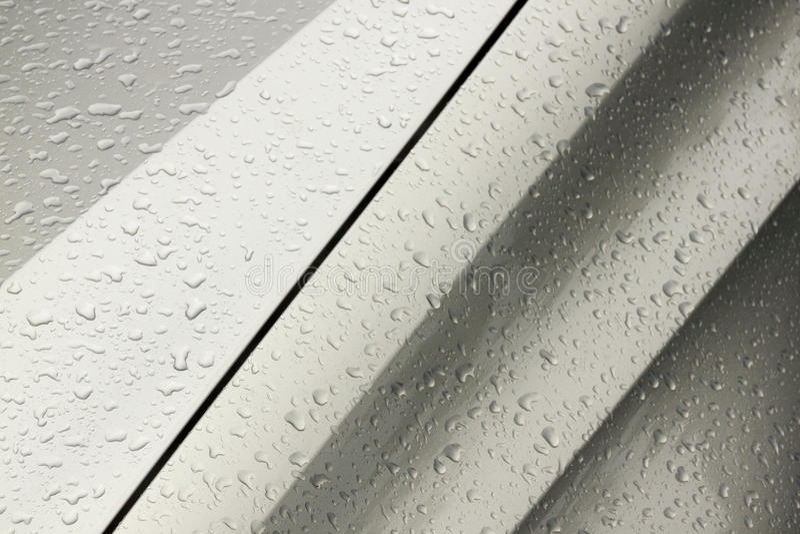 Kropelek tekstury na Mokrym pojazdzie mechanicznym i wzory obraz stock