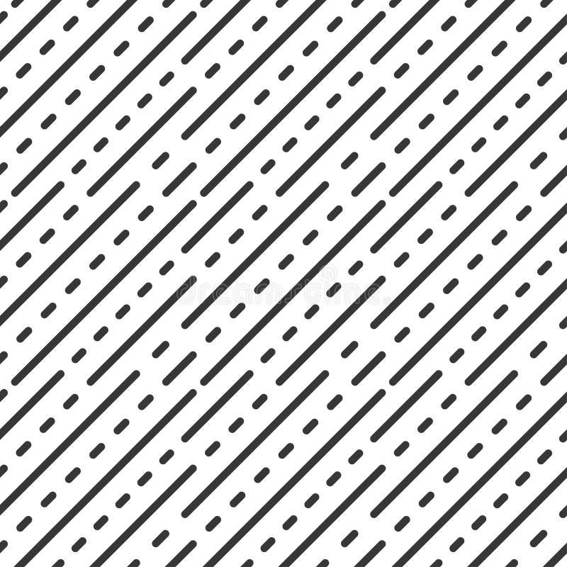 Kropka ciskająca linia bezszwowy wzoru geometrycznego ilustracji