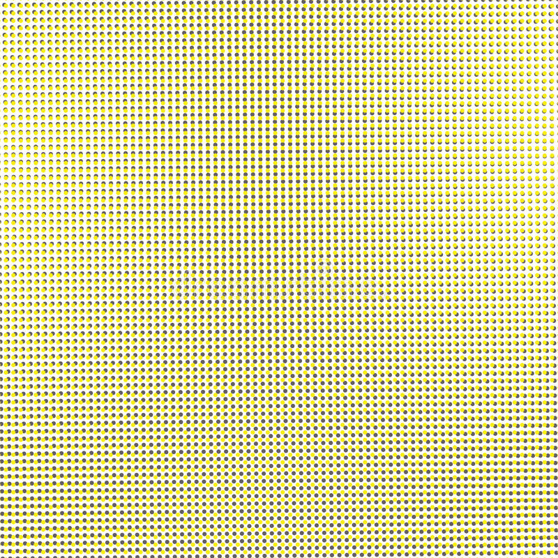 Kropka koloru żółtego lśnienie zdjęcia stock